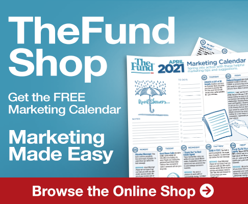 Get the FREE Marketing Calendar in the Fund Shop