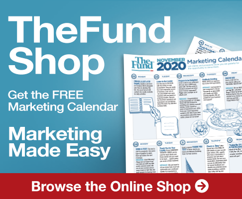 Get November's FREE Marketing Calendar in the Fund Shop