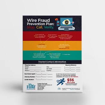 Wire Fraud Prevention Plan – Flyer (Download)