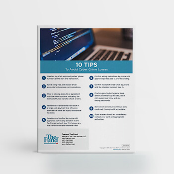 10 Tips to Avoid Cyber Crime Losses (Download)