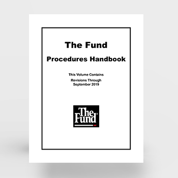 The Fund Procedures Handbook (Download)