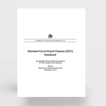 Standard Commitment Clauses (Download)