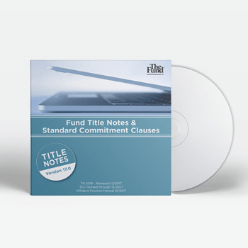 Fund Title Notes (on CD)